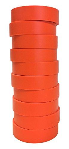 TradeGear Pvc General Purpose Isolierband, 10 Stück Mehrere Farben Orange