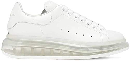 Alexander McQueen White Air Oversize Sneakers New FW20 (10)