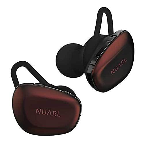 完全 ワイヤレス イヤホン N6 Pro2 (ボルドー) ヌアール NUARL n6pro2