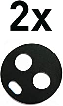 2X Rear Back Camera Glass Lens Cover Replacement for Motorola Moto X4 XT1900 Black + Tools
