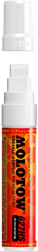 Molotow ONE4ALL Acryl-Marker Signal, weiß Paint Marker - 15mm weiß