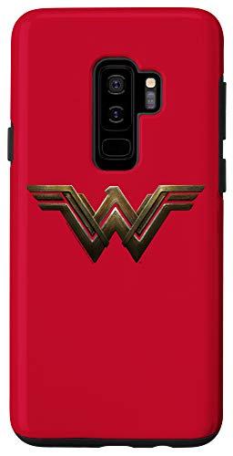 Galaxy S9+ Batman v Superman Wonder Woman Gold Logo Case