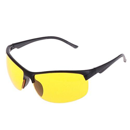 GASSDINER Gafas de visión Nocturna Pesca Ciclismo Gafas de Sol al Aire Libre Protección Unisex UV400
