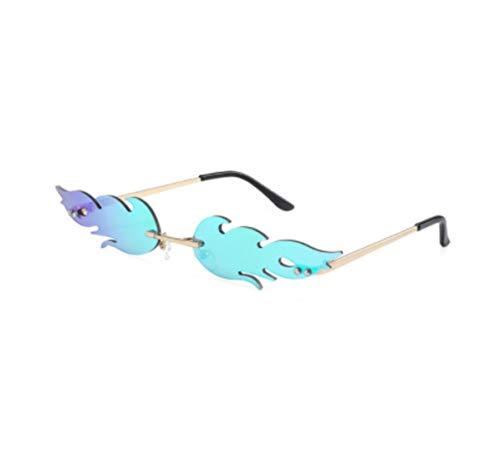 QSMIANA Gafas de sol Gafas De Sol Ojo De Gato Mujeres Sin Llama Llama Gafas De Sol Eyewear Uv400