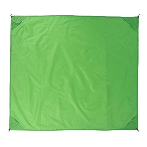 BOLORAMO Manta de Bolsillo al Aire Libre, Manta Impermeable al Aire Libre Duradera fácil de Doblar portátil para Acampar(Verde)