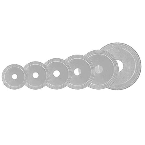 LIXIAONMKOP 80/100/110/120/150 / 200mm outil de scie circulaire multifonctionnelle Scie circulaire multifonctionnelle Disque de roue d'agate de pierre de diamant (Outer Diameters : 100mm)