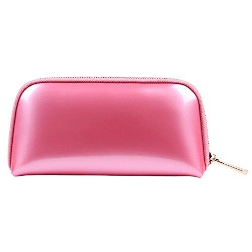 Voyage sac de rangement sac de lavage sac cosmétique femme main prendre pvc shell sac cosmétique 22 * 5 * 11 CM pastèque rouge