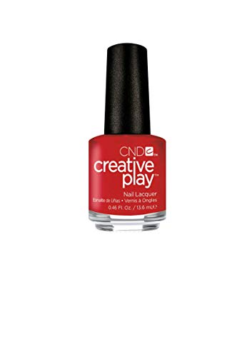 CND Creative Play Vernis à ongles rouge Red Y to roll # 412 13,5 ml