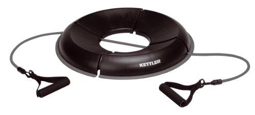 Kettler - Base per Palla Ginnica, Colore: Nero