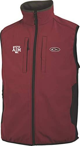 New Drake Texas A&M Windproof Tech Vest Maroon 2XL & Knit Cap Bundle