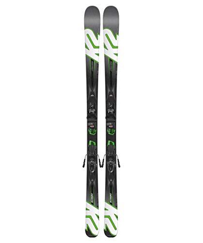 K2 Herren Skier Konic 76 Photon inkl. Bindung M2 10 Quikclik schwarz/grau (718) 170