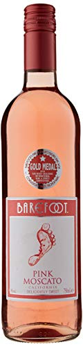 Barefoot Pink Moscato Non Vintage, 75cl