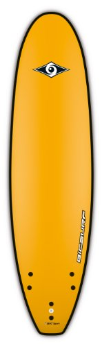 BIC Sport G-Board EVO Soft Surfboard, Yellow, 7-Feet x 22-Inch