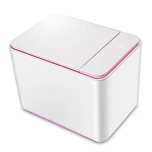 LYYJIAJU Mini Washing Machine Automatic Household High Temperature Cooking Sterilization Portable Desktop Underwear Washing Machine (Color : White)