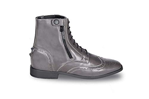 Cavallo Stiefelette LACE Slim grau, Schuhgröße:4-4.5