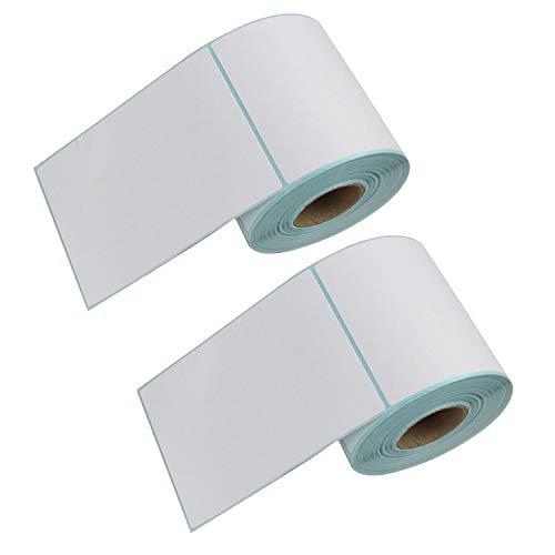 DYNASUN 1000 Stück 10x15cm Thermo Etiketten auf Rolle 102x152 mm Kern 25 mm aussen gewickelt für Versandetiketten DPD, UPS, GLS und DHL