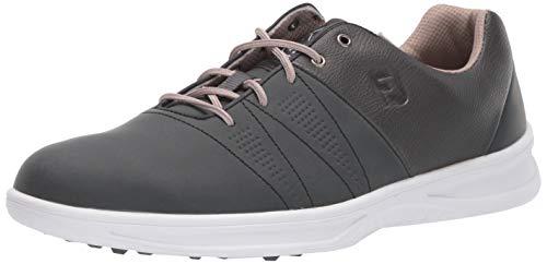FootJoy Contour Casual, Zapatos de Golf Hombre, Charcoal, 48 EU