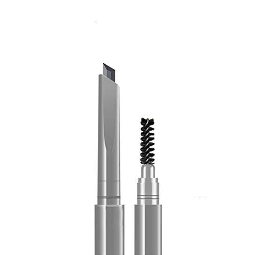 ROZO Long lasting and Waterproof Professional Makeup Auto Eyebrow Pencil (NO.4 Natural Gray)