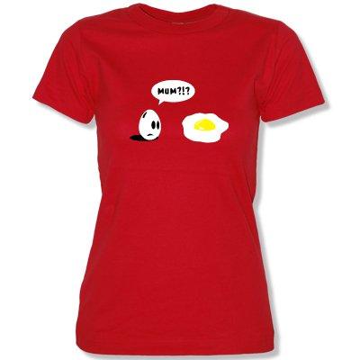 Mum ?. T-Shirt Taille XS à XL Rouge Rouge XXL