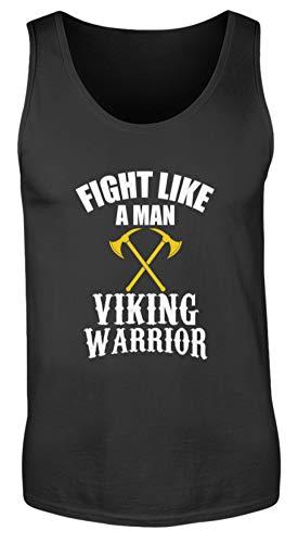 Generisch Viking Warrior Fight Like Man - Camiseta