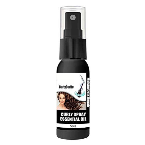 Tixiyu Curly Hair Luster Essence Oil Hair Care Hair Essential Oil Natural Nourishing Hair Serum,Moisturising And Repairing For Dry Damaged Hair Promotes Healthy Hair Growth