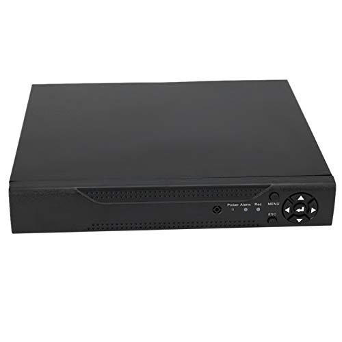 DAUERHAFT NVR Grabador de Video en Red Disco Duro VCR 8CH NVR, para Salida VGA, para WiFi(100-240V European Standard)