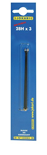 Jokari 19000/3 Ersatzmesser Set passend Kabelmesser Modelle, 3 Stück