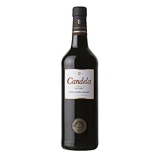 Vino dulce Cream Candela de 75 cl - D.O. Jerez-Sherry - Bodegas Grupo Caballero (Pack de 1 botella)