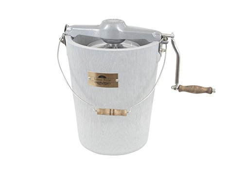 6 qt LIFETIME Ice Cream Maker - Hand Crank