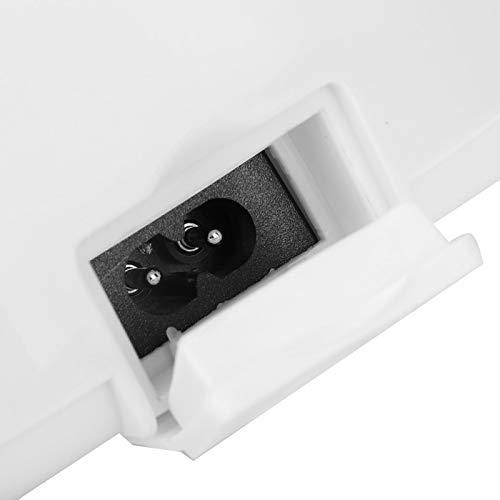 Kadimendium Fiambrera Transparente Calefacción Fiambrera Conveniente Viaje eléctrico del envase de Comida para el Coche(Blue)