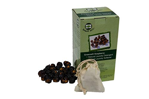 1.5 Pounds Greenwill Organic Soapberry / Soap Nut with Wash Bag