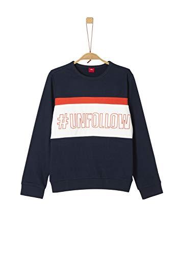 s.Oliver Jungen 61.909.41.2757 Sweatshirt, Blau (Dark Blue 5952), 152 (Herstellergröße: M/REG)