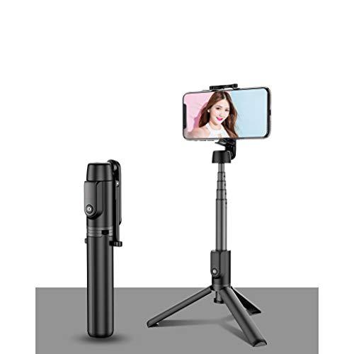 LLKK Selfie Stand,Selfie Stick,teléfono móvil Bluetooth Integrado con trípode Mini aleación de Aluminio Selfie Stick multifunción (1 Articulo)