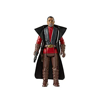 Star Wars Retro Collection Greef Karga Toy 3.75-Inch-Scale The Mandalorian Action Figure with Accessories, Toys for Kids Ages 4 and Up from Hasbro