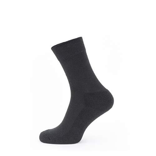 SealSkinz Sock Solo Merino Sock, Black, L, 11100050000130