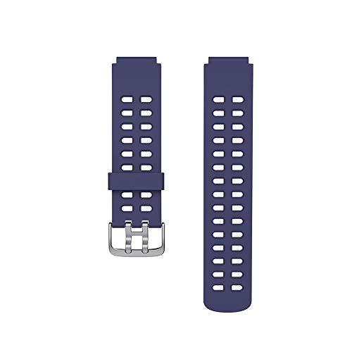 YsaAsaa Correas de reloj, correa de repuesto para reloj inteligente, multicolor, transpirable, correa de silicona ajustable, compatible con reloj inteligente ID205 ID205L ID205S