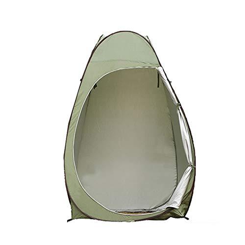 SMAA Pop-Up Douche Tente, Ensemble Portable étanche jusqu'à Toilettes, pour Le Camping Douche Toilettes Beach Park, Léger et Robuste, Installation Facile, Pliable, avec Le Sac Carry