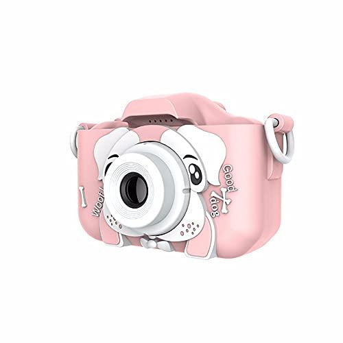 LAMCE Fotocamera Digitale WiFi per fotocamera per Bambini Mini fotocamera giocattolo per Bambini Pink