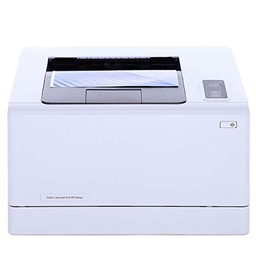 TANCEQI Colour Laser Printer, Draadloos, 600 × 600Dpi, Hi-Speed USB 2.0 Port, 4 Color Toner, Ondersteuning voor Meerdere Media Printing