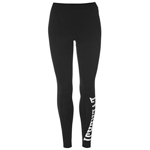 Everlast - Leggings para mujer negro/blanco 46