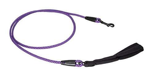 Hurtta Dazzle Seil-Leine violett, 120cm*8mm