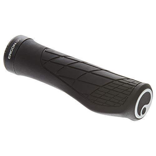 Ergon – GA3 Ergonomische Lock-on MTB Griffe | Mit Mini-Wing | Standard kompatibel | Für Mountain Bikes | Small | Schwarz