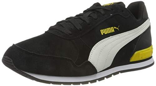 PUMA St Runner V2 SD Jr, Zapatillas, Negro Black/Whisper White/Dandelion White, 37 EU
