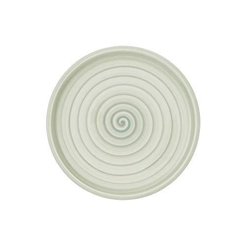 Villeroy & Boch Artesano Nature Vert Assiette petit-déjeuner, 22 cm, Porcelaine Premium, Vert