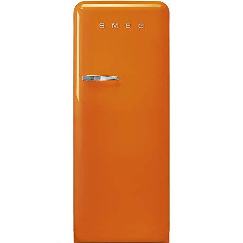 SMEG FAB28ROR3 - Frigorifero Monoporta con Congelatore SMEG Estetica Anni  50 Ventilato 270 Lt arancione Apertura a destra Classe A+++