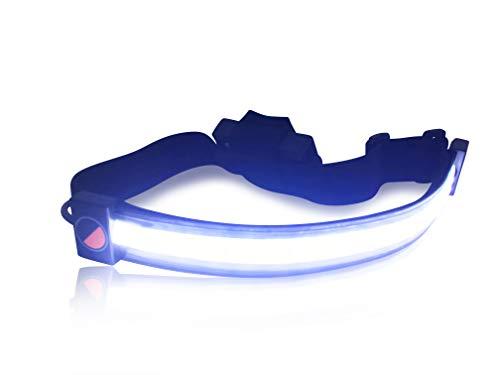 【ヘッドライト革命!】「ONE80ライトヘッドランプ + バッテリー2個セット」世界初180°の視野を照射するLEDヘッドライト★夜を昼間に!ONE80ライトは180°の範囲を照らすことができるため、従来のヘッドライトでは実現できなかった周辺視野を実現しま