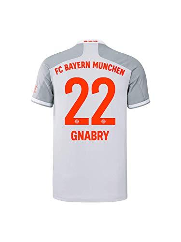 FC Bayern München Herren Away-Trikot Auswärts Saison 2020/21, Gr. L, Serge Gnabry