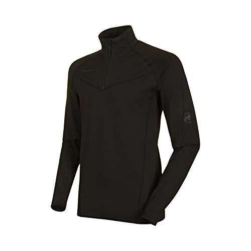 Mammut Herren Snow Half Zip Midlayer Pullover mit Reissverschluss, Black, M