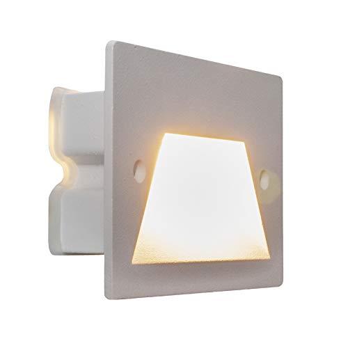 Faretto segnapassi IP65 LED 3W incasso scatola 503 scale giardino viale gradini