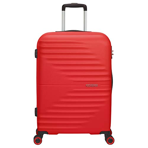American Tourister Wavetwister Valigia trolley (4 ruote) rosso 66 cm